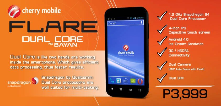 Cherry Mobile Flare: Budget Android Phone for Just P3,999 ...