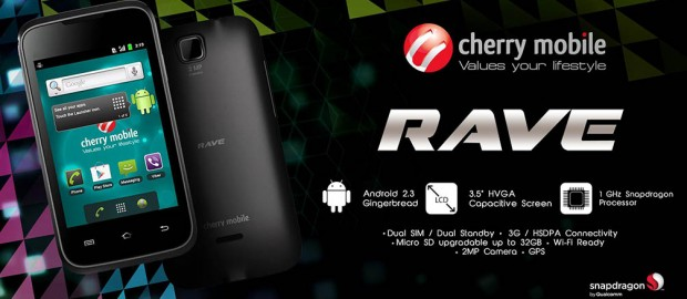 Cherry Mobile Rave promo graphic