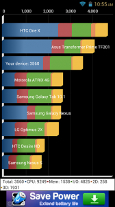 MyPhone A919i Duo Screenshots: Quadrant