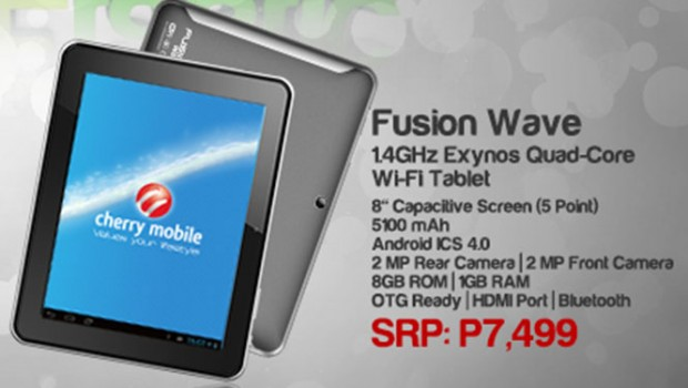 Cherry Mobile Fusion Wave Official Specs and Price