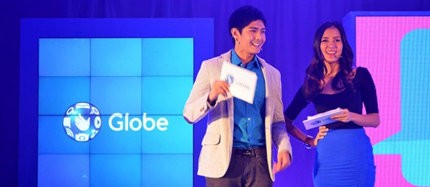 Globe GoUnli30 Robi Domingo and Bianca Gonzales
