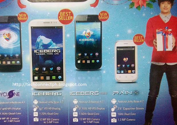 MyPhone Iceberg Mini Automatic Flyer