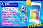 SKK Mobile Glimpse Sports a 4 Inch Screen and Dual Core CPU for Just Php2,399