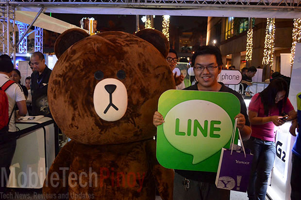 Best Buddy with Line Mascot