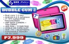 SKK Mobile Bubble Gum 2 is a Call/Text Capable Tablet for Kids!