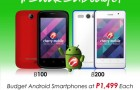 Cherry Mobile B100 and B200: Super Affordable Smartphones for Just Php1,499!
